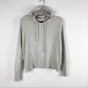 American Eagle Color Fleck Hooded Sweater